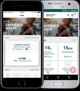 projektove myslenie cashback app
